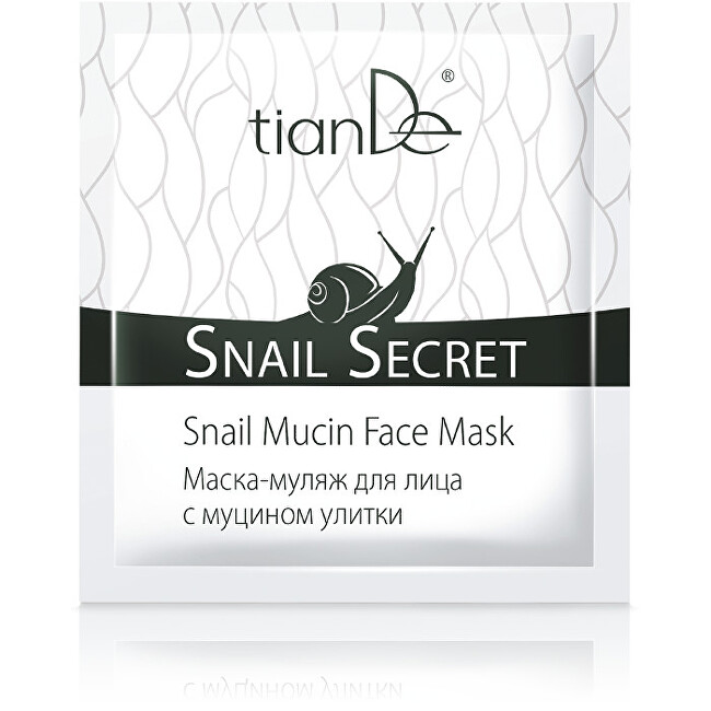 Zobrazit detail výrobku tianDe Maska na obličej s mucinem hlemýžďů 1 ks