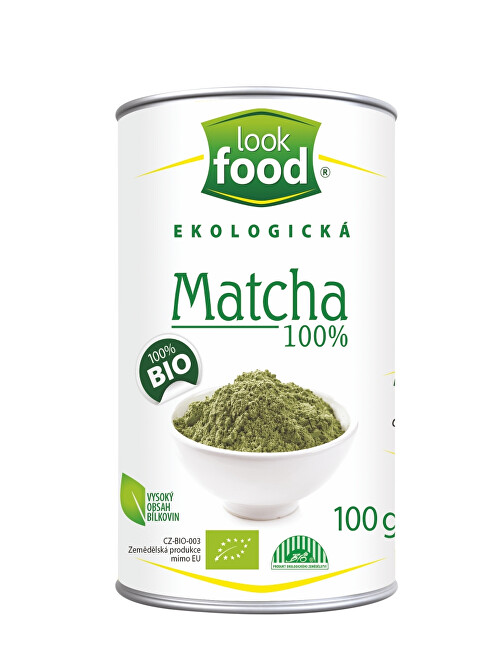 Look food s.r.o Matcha 100% 100g BIO