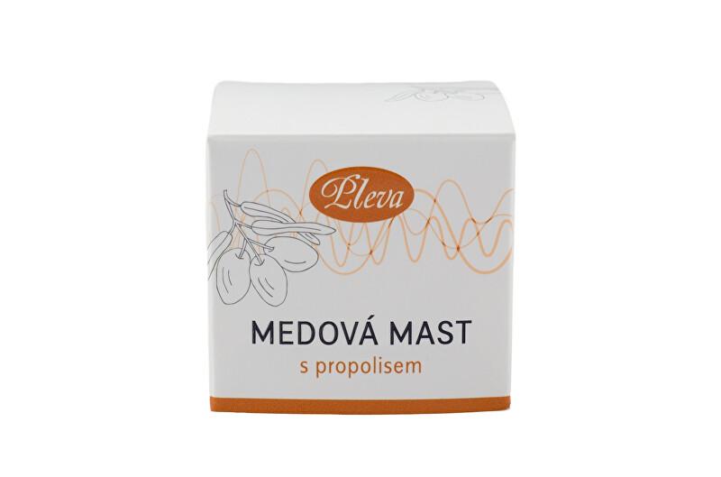 Rodinná firma Pleva Medová mast s propolisem