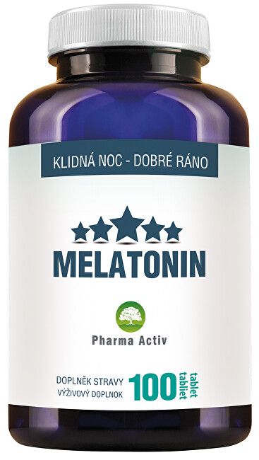 Zobrazit detail výrobku Pharma Activ Melatonin 100 tablet