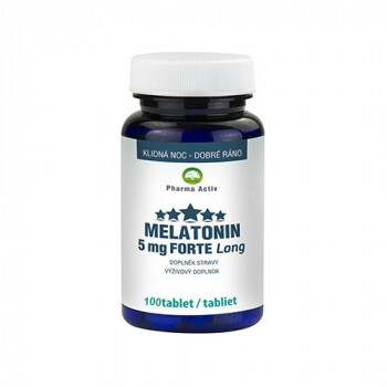 Zobrazit detail výrobku Pharma Activ Melatonin 5 mg Forte 100 tablet