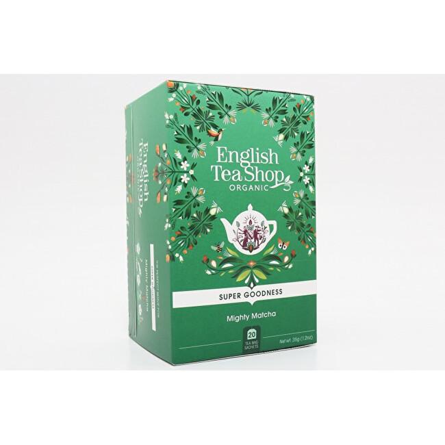Zobrazit detail výrobku English Tea Shop Mocná Matcha - Super food tea 20 sáčků