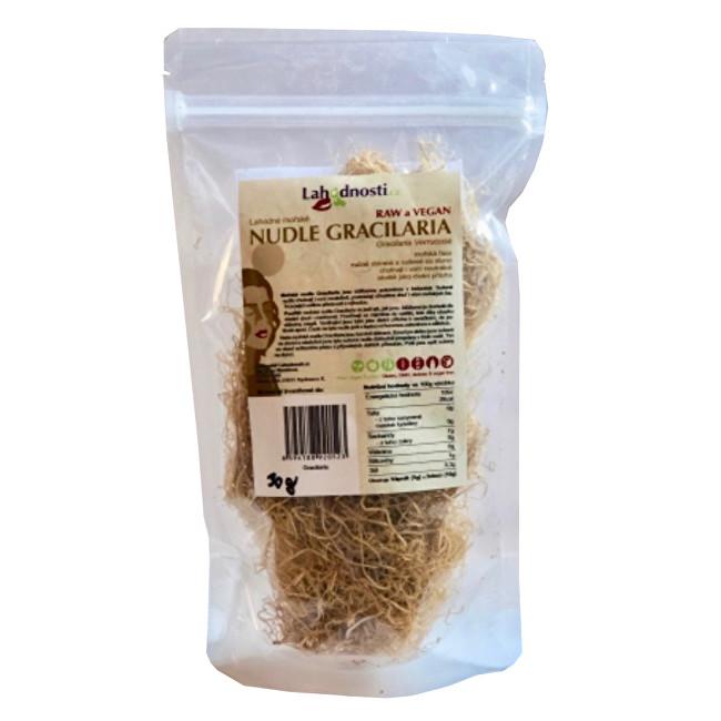 Mořské nudle Gracilaria - sušené na slunci 30 g