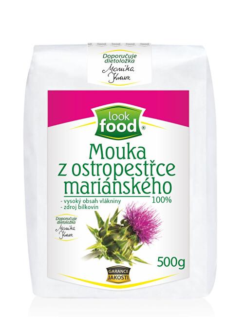 Zobrazit detail výrobku Look food s.r.o Mouka z ostropestřce mariánského 100 % 500 g