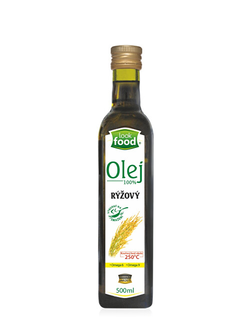 Look food s.r.o Olej rýžový 100% 500 ml