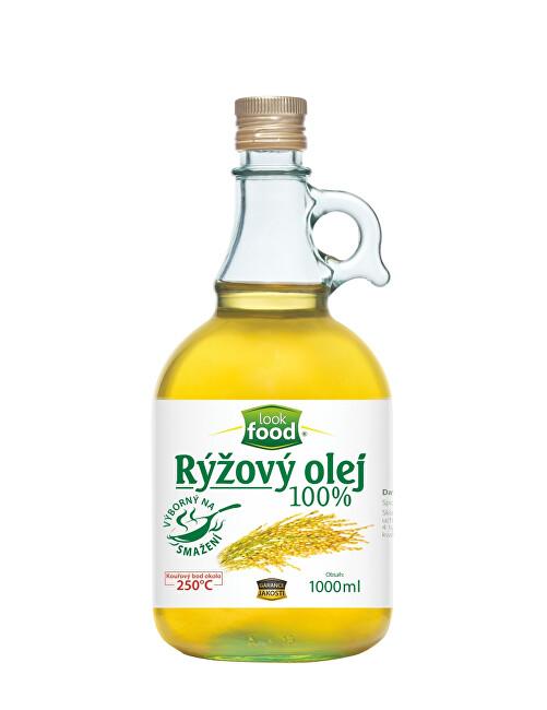 Zobrazit detail výrobku Look food s.r.o Olej rýžový 100% karafa 1000 ml