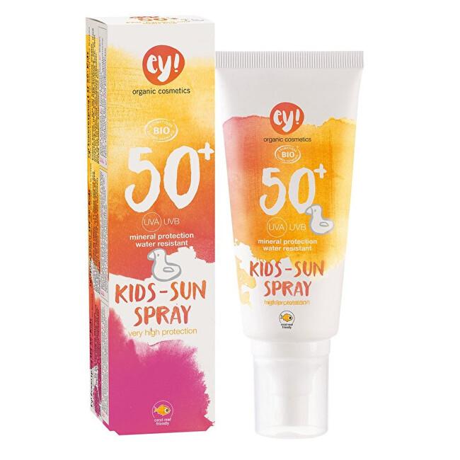 Zobrazit detail výrobku Ey! Eco Cosmetics Opalovací krém ve spreji pro děti SPF 50+ BIO 100ml