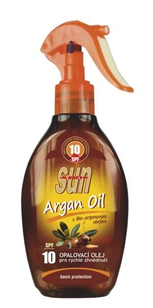 Zobrazit detail výrobku SUN Opalovací olej s arganovým olejem OF 10 rozprašovací 200 ml