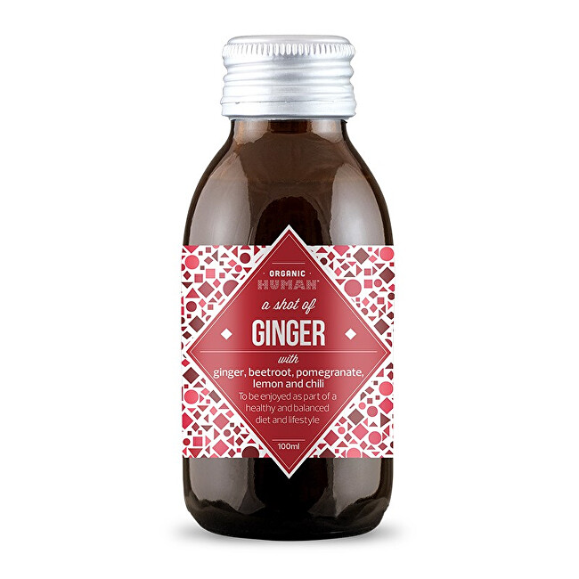 Zobrazit detail výrobku Organic Human Ginger shot BIO 100 ml