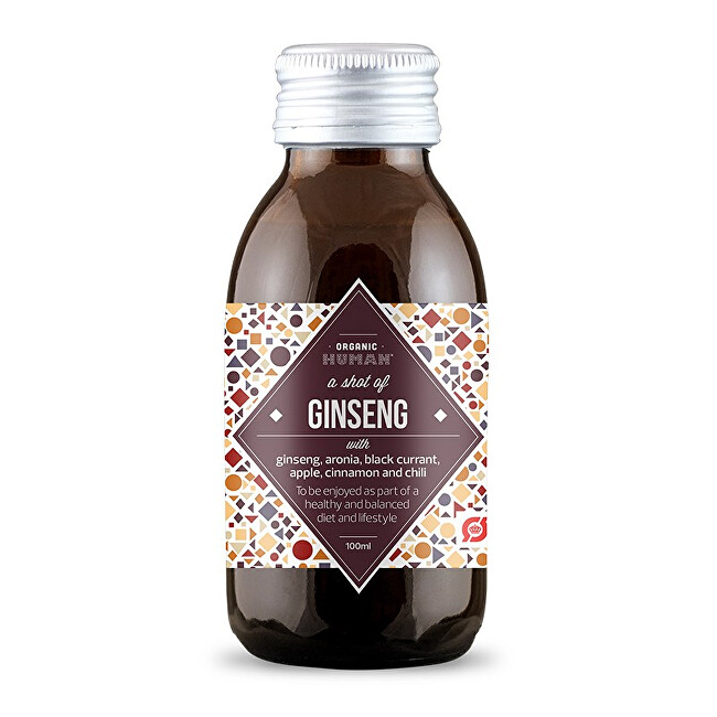 Zobrazit detail výrobku Organic Human Ginseng shot BIO 100 ml