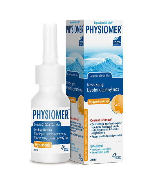Omega Pharma Physiomer Hypertonic 20 ml