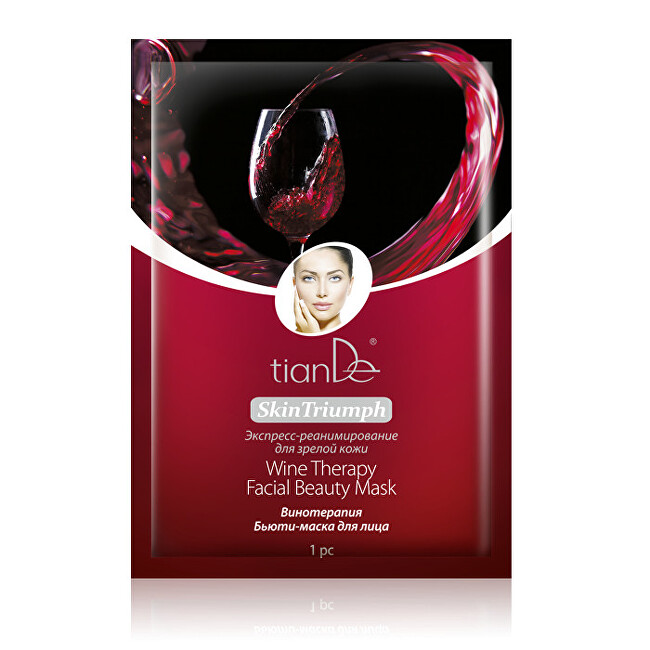 Zobrazit detail výrobku tianDe Pleťová maska Vinná terapie 1 ks