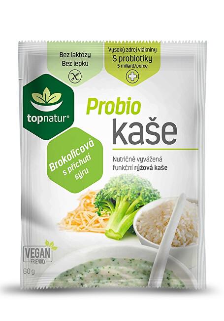 Zobrazit detail výrobku Topnatur Probio kaše brokolicová s příchutí sýru 25 x 60 g