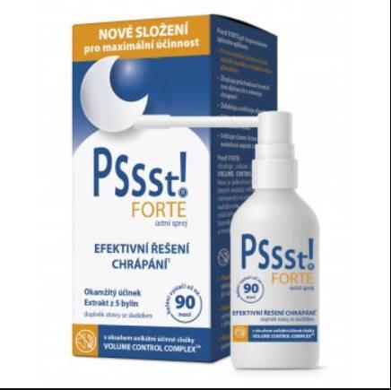 Zobrazit detail výrobku Simply You Pssst! FORTE ústní sprej proti chrápání 15 ml + 10 ml ZDARMA