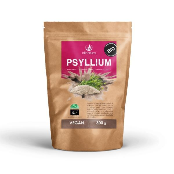 Zobrazit detail výrobku Allnature Psyllium BIO 300 g