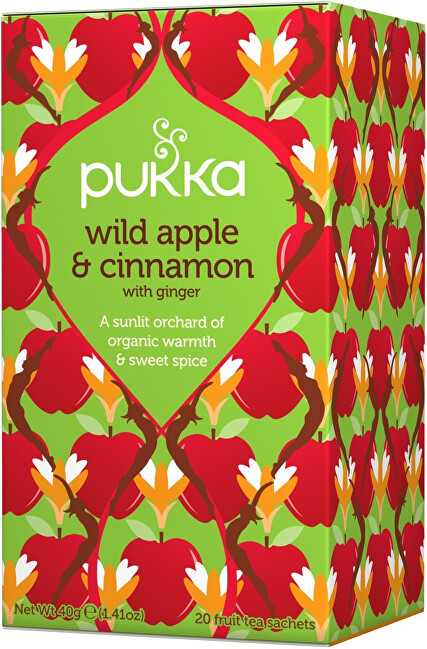 Pukka Tea Wild Apple & Cinnamon