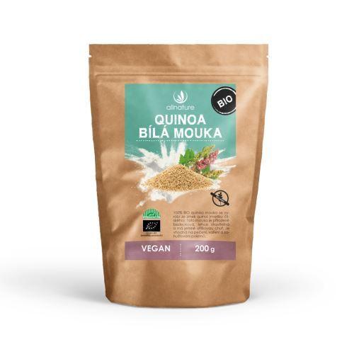 Zobrazit detail výrobku Allnature Quinoa bílá mouka BIO 200 g