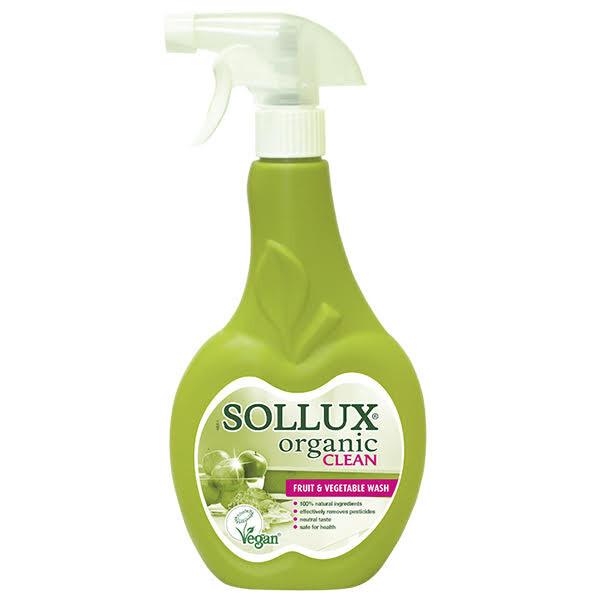 Sollux Organic Clean na mytí ovoce a zeleniny 500 ml