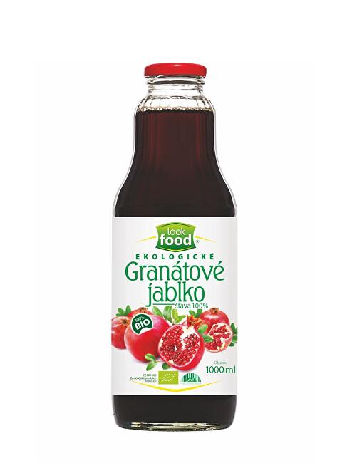 Zobrazit detail výrobku Look food s.r.o Šťáva z granátového jablka 100% 1000 ml BIO