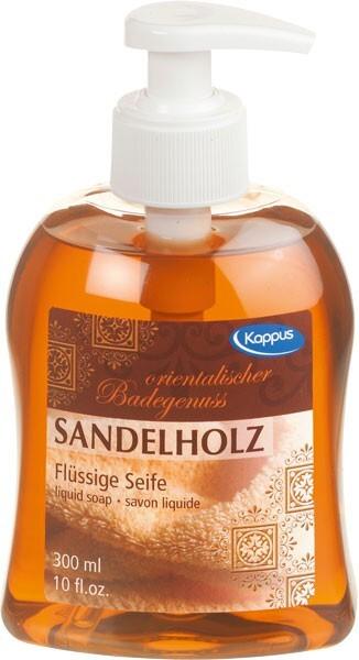 Zobrazit detail výrobku Kappus Tekuté mýdlo KAPPUS 300 ml 3-0900 Sandelholz
