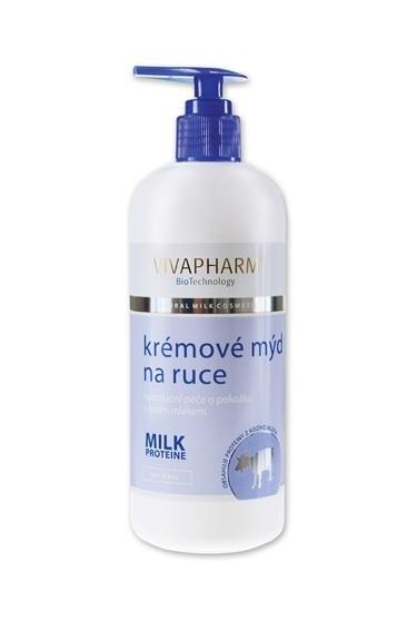Vivapharm Tekuté mýdlo s kozím mlékem 400 ml