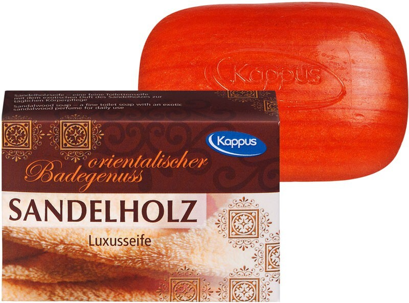 Kappus Toaletní mýdlo KAPPUS 100g 3-0500 Sandelholz