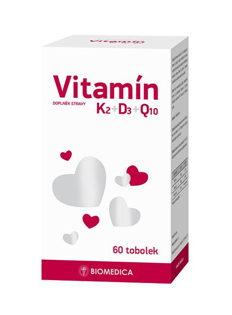 Vitamín K2+D3+Q10 60 tablet