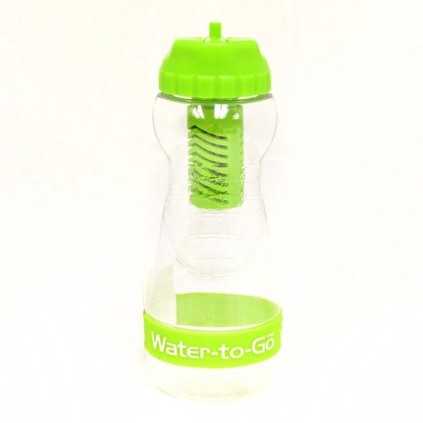 Zobrazit detail výrobku Water-to-GO Water-to-GO lahev 0,50 l zelená