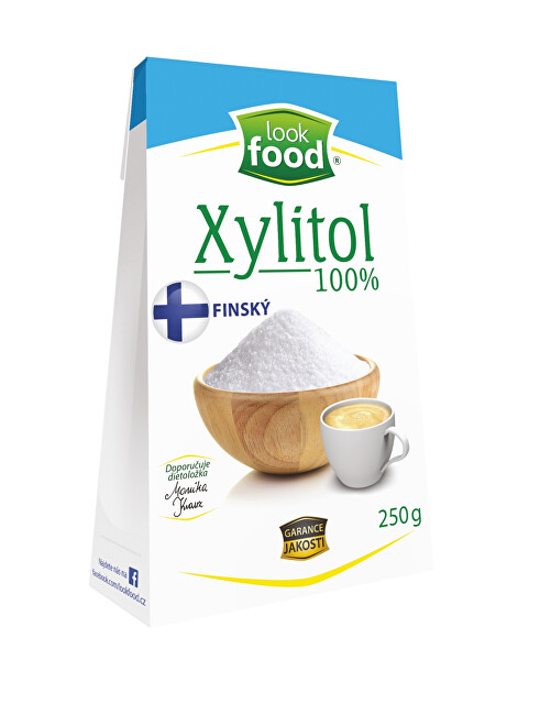 Look food s.r.o Xylitol 100% 250 g Finský
