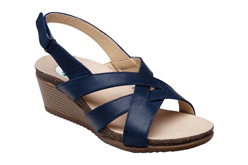 SANTÉ Zdravotní obuv dámská EKS/152-26 NAVY modrá 42