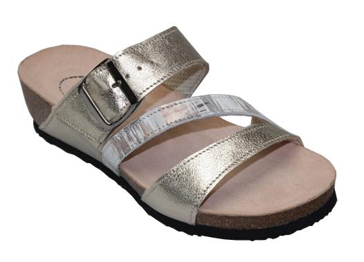 cc9eacfe1f588 SANTÉ Zdravotní obuv dámská N/101/2/10C METAL 39