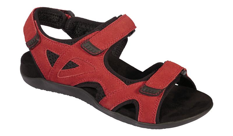 Scholl Zdravotní obuv dámská SPINNER červené 37
