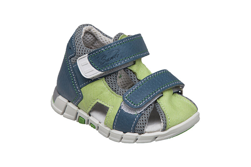SANTÉ Zdravotní obuv dětská N/810/401/S89/S90 zelená 19