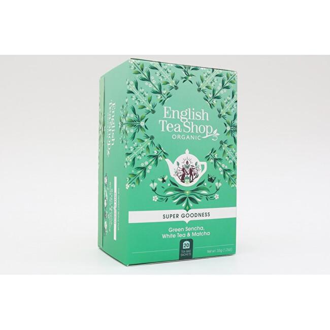 Zobrazit detail výrobku English Tea Shop Sencha, Bílý čaj a Matcha 20 sáčků