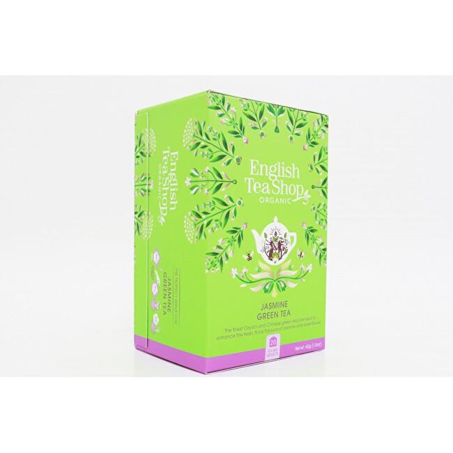 Zobrazit detail výrobku English Tea Shop Zelený čaj s jasmínem a bezinkou 20 sáčků