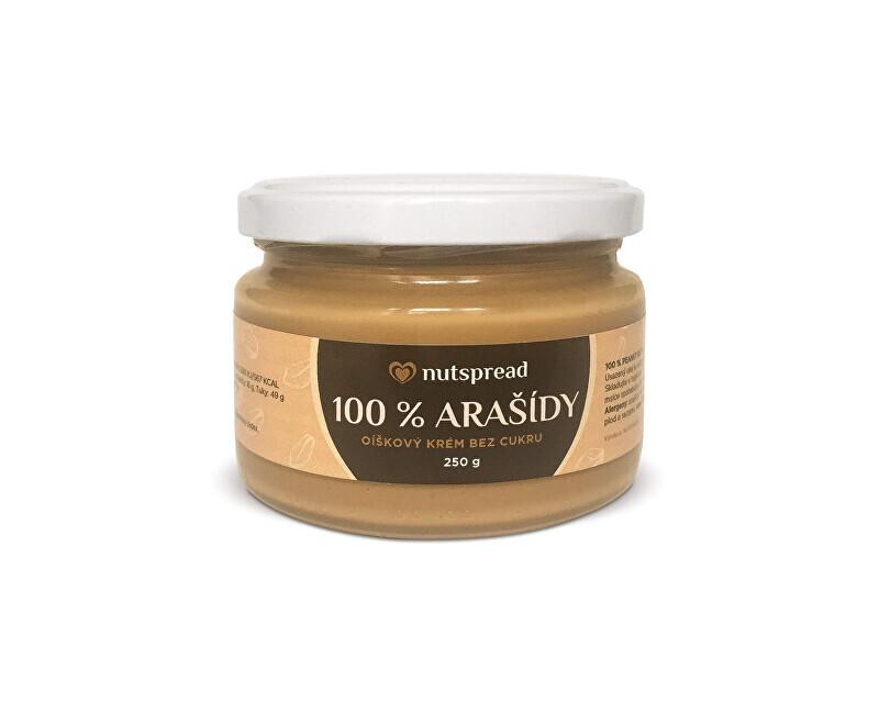 Nutspread 100% arašídové máslo Nutspread 250 g