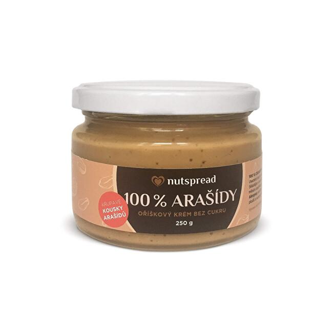 Nutspread 100% arašídové máslo Nutspread crunchy 250 g