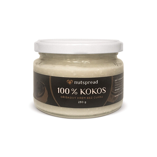 Zobrazit detail výrobku Nutspread 100% kokosové máslo Nutspread 250 g