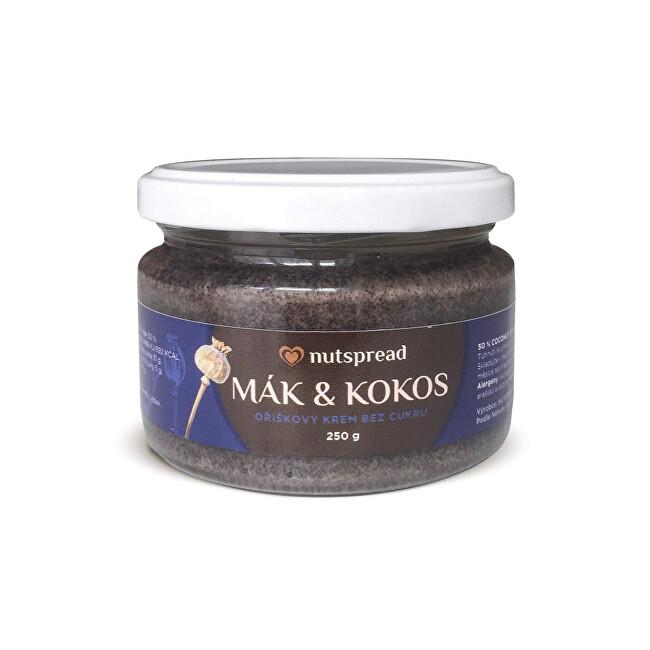 Nutspread 100% kokosovo-makové máslo Nutspread 250 g