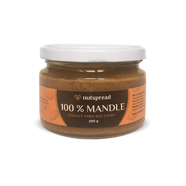 Zobrazit detail výrobku Nutspread 100% mandlové máslo Nutspread 250 g