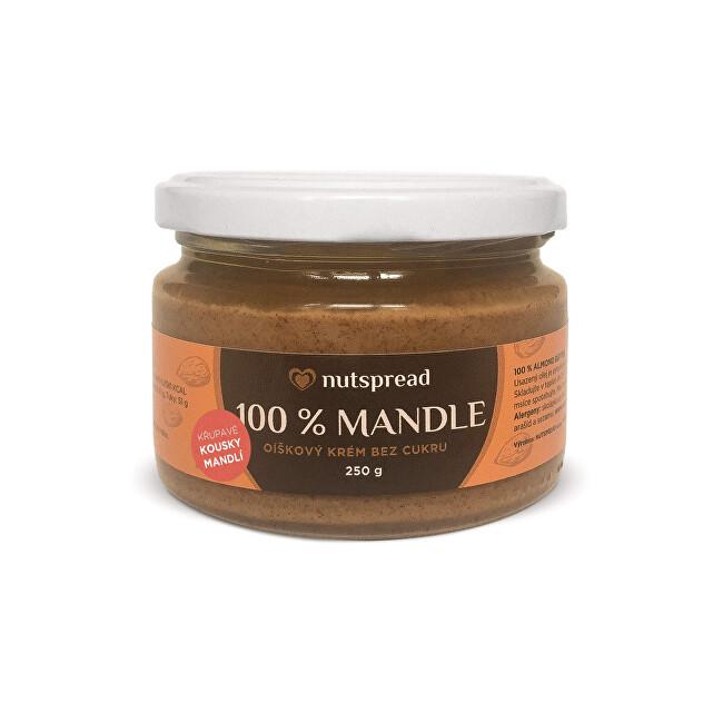 Nutspread 100% mandlové máslo Nutspread crunchy 250 g