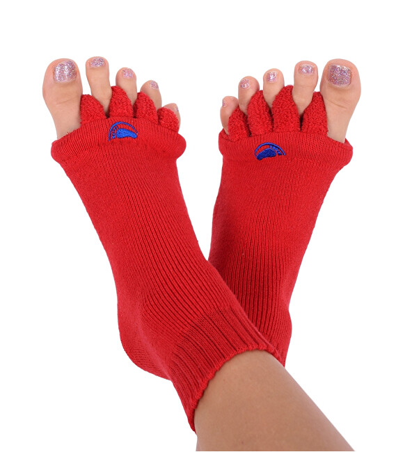 Zobrazit detail výrobku Pro nožky Adjustační ponožky RED S