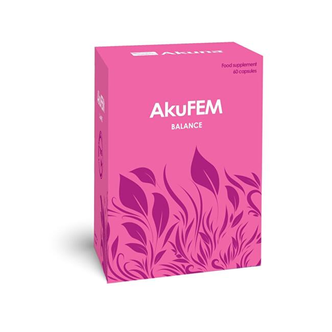 Zobrazit detail výrobku Akuna AkuFEM BALANCE 60 kapslí - SLEVA - POŠKOZENÝ OBAL