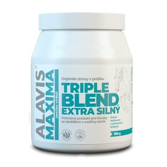 Zobrazit detail výrobku Alavis ALAVIS MAXIMA Triple Blend Extra Silný 700 g se sladidlem z rostliny stévie