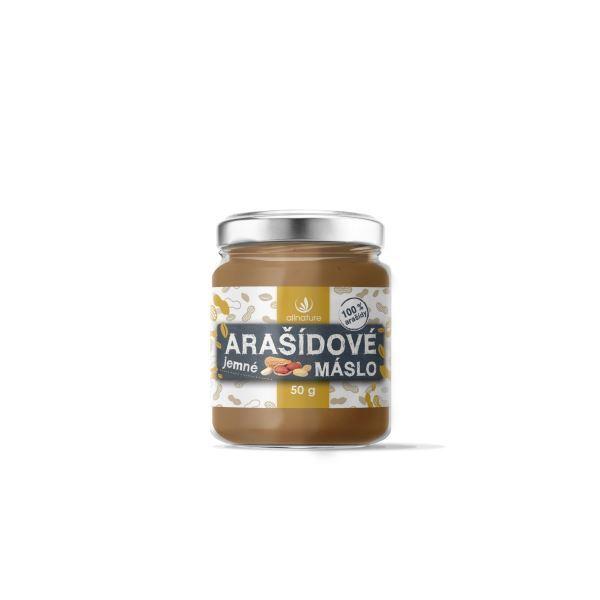 Zobrazit detail výrobku Allnature Allnature Arašídové máslo jemné 50 g