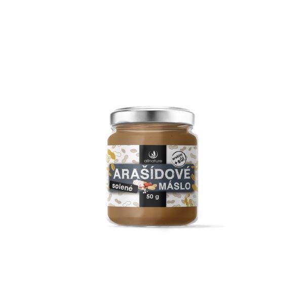 Zobrazit detail výrobku Allnature Allnature Arašídové máslo solené 50 g