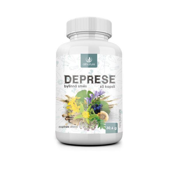 Zobrazit detail výrobku Allnature Deprese bylinný extrakt 60 pastilek