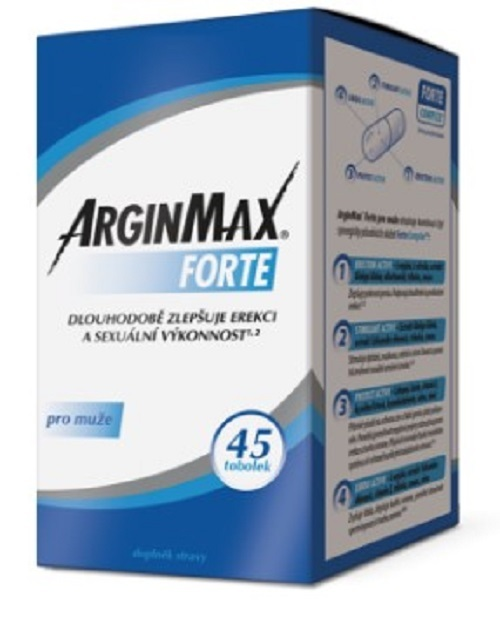 Zobrazit detail výrobku Simply You ArginMax Forte pro muže 45 tobolek