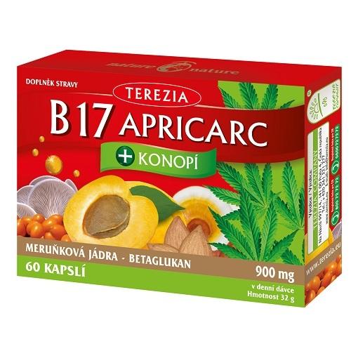 Zobrazit detail výrobku Terezia Company B17 APRICARC + Konopí 60 pastilek