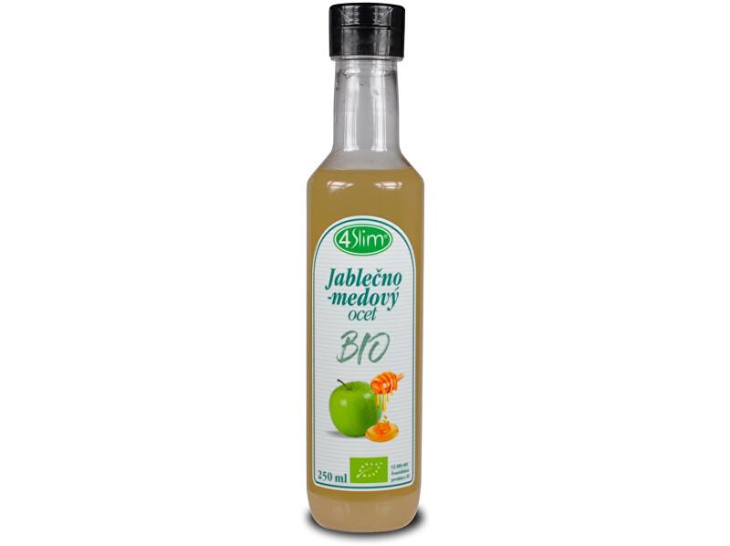 4Slim Bio Jablečno-medový ocet 250ml